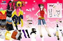 Play Shopping Girl Dressup 2 game