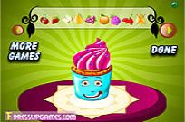 Play Party Cup Cake Decor game