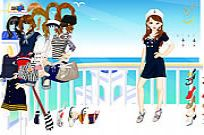 Play Sailor Girl Dressup 2 game