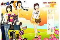 Play Sylvie Sunset Dressup game
