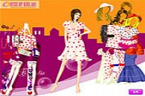 Play Stylish Dot Dresses game