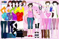 Play Selma Pink Dress Up game