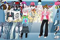 Play Hiphop Dressup game