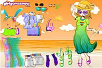 Play Beach Doll game