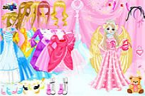Play Angel Style Dress Up game