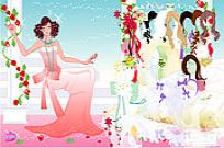 Play Rose Bride Dressup game