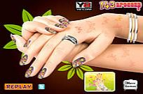 Play Nail Makeover game