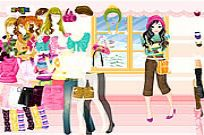 spielen Colorful Winter Dress Up Spiel
