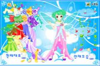 Play Flower And Little Princess Dress Up game