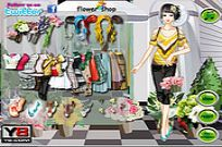 spielen Flower Store Girl Dress Up Spiel