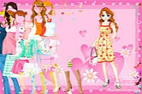 Play Pink Heart Dressup game