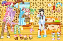 Play Pajama Dressup game