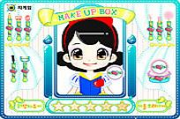 Play Snow White Make Up game