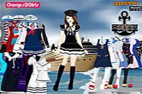 Play Tandy Sailor Girl Dressup Game game