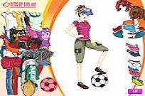Play Sporty Girl Dressup game