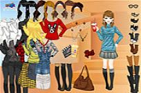 Play Rock Stripes Dressup game