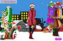 Play Fitness Wearing For Christmas game