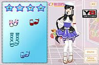 Play Anime Dress Up game