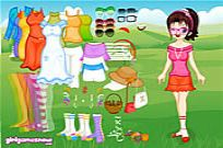 Play Cute Wendy Dressup game
