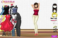 Play Charming Girl Dressup game