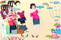 Play Vivian Dressup game