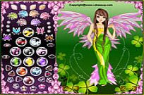 Play Forest Angel Dress Up game
