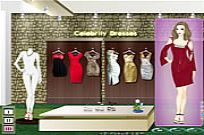 Play Celebrity Dresses game