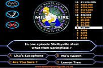 Play Simpson's Millionaire game