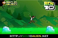 Play Ben 10 Ice Jump game