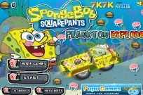 Play Spongebob Plankton Explode game