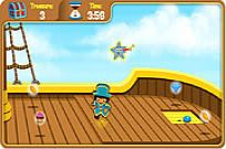 Play Dora's Pirate Boat Treasure Hunt game