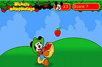 Play Mickey's Apple Plantation game