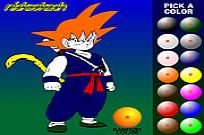 Play Dragon Ball Z Painting game
