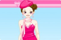 spielen Pink Dress-up Spiel