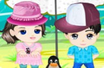 Play Cuddly Anime Kids game