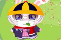 Play Pinky The Rabbit Dress Up game
