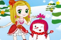 Play A Princess And The Snowman game