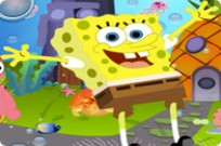 Play Spongebob Hidden Treasure game