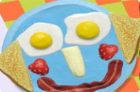Play Funny Food Face game