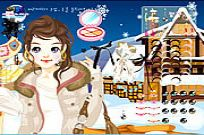 spielen Ski Girl Make Up Spiel