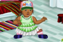Play Cute Baby Styling game