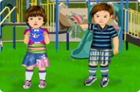 Play Little Brother And Sister game