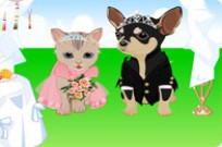 Play Pet Wedding Dressup game