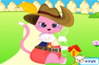 Play Funny Cat Dressup game