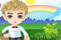 Play Little Boy Dressup game