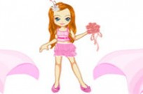Play Flower Girl Doll Maker game