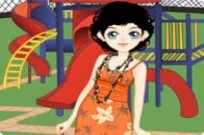 Play Cute Playground Dress Up game