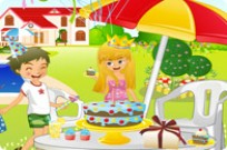 Play Kitchen Garden Party game