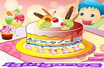 Play Yummy Cake Cooking game