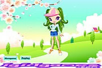 Play Pretty Cherry Girl game